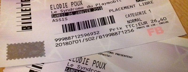 Avis spectacle : Elodie POUX et «Le Syndrome du Playmobil», ça vaut le coup ou pas ?